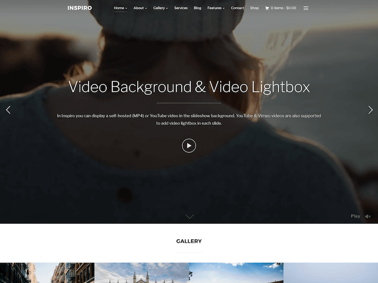 27+ Best Video Background WordPress Themes 2019