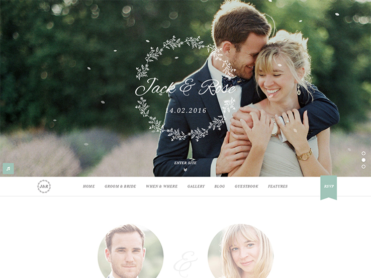 60 Best Wordpress Wedding Themes 2018