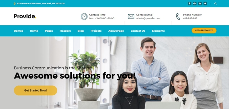 80 best corporate wordpress themes 2018 best corporate themes to add style to your business site maxwellsz