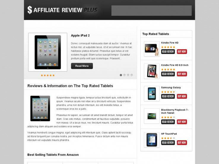 Affiliate Review PLUS