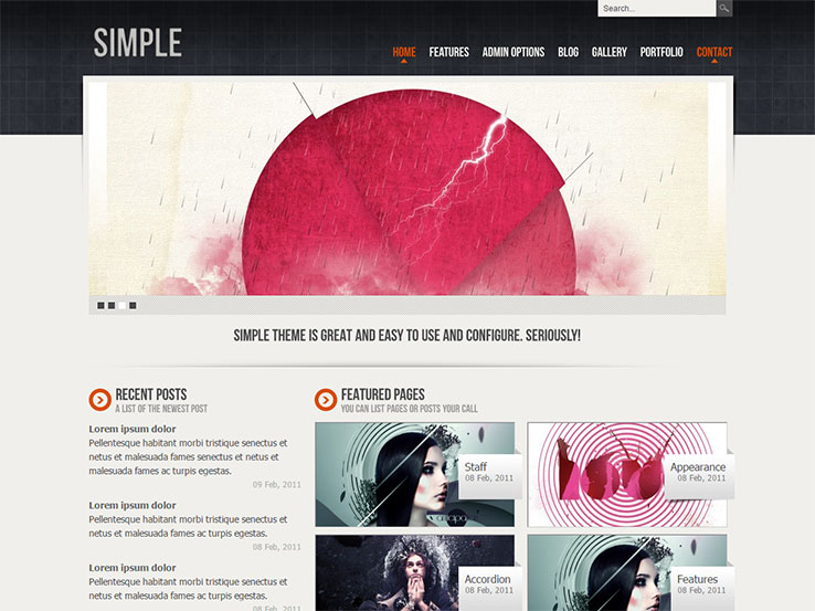Simple WordPress