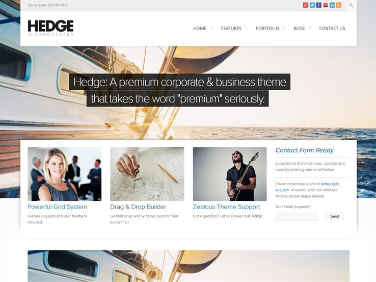 Hedge - Multipurpose Theme