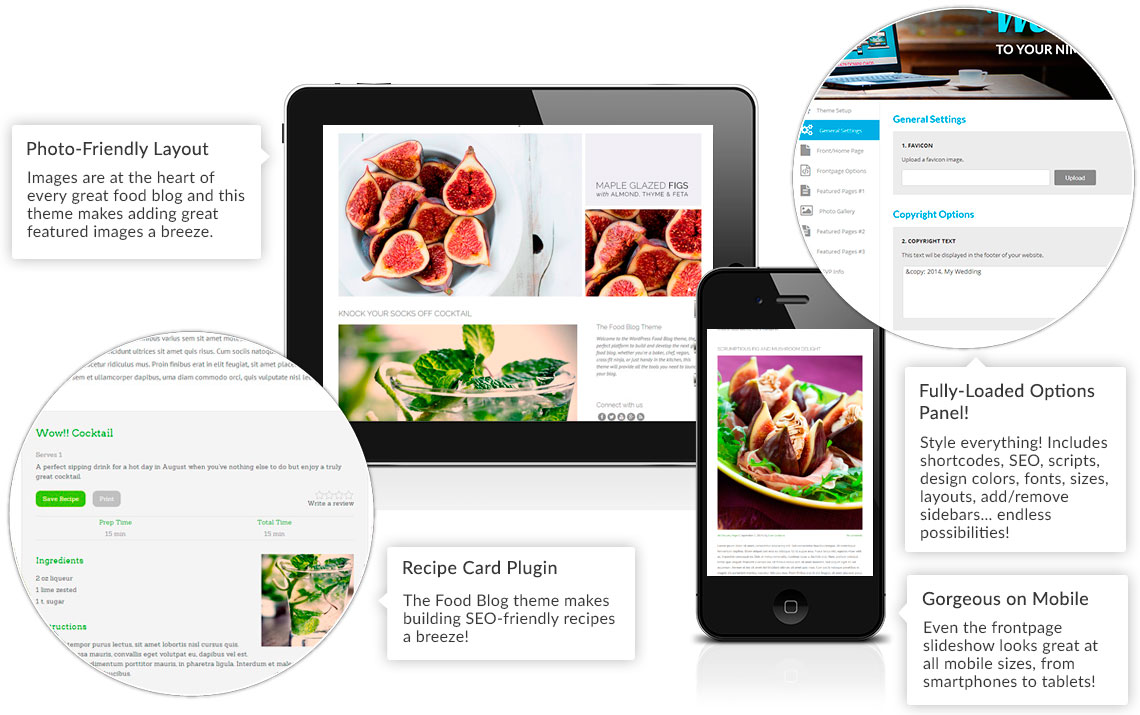 WordPress food themes