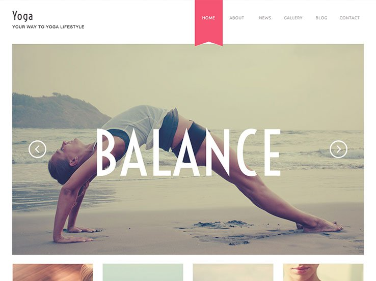 20 best yoga wordpress themes 2018