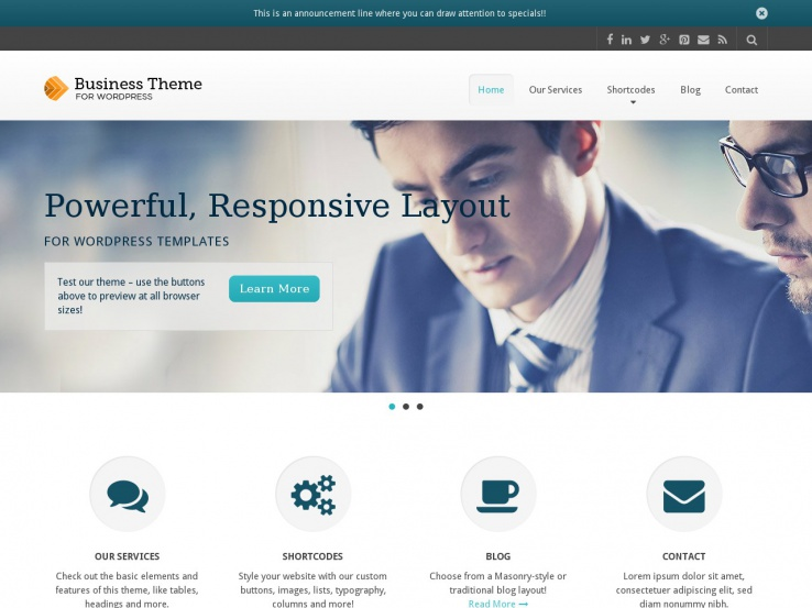 80+ Best Corporate WordPress Themes 2018