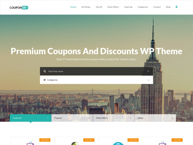 Couponer by Power Themes