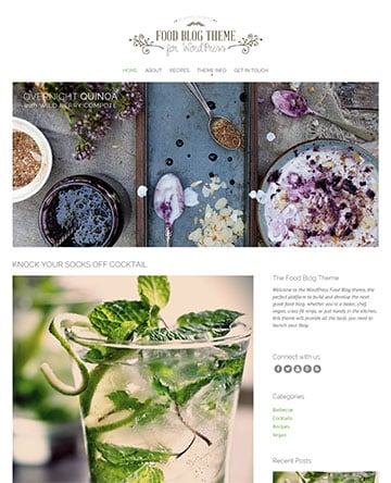 Food Blog Theme