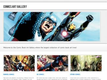 Comics Art Gallery