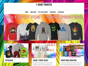 T-Shirt Printer London