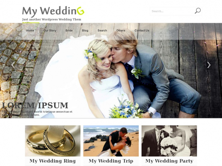 26+ Fabulous and Free WordPress Wedding Themes 2019