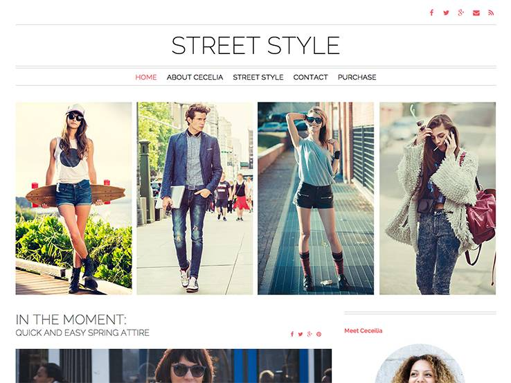Street Style Theme
